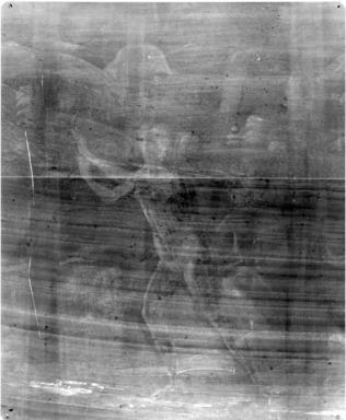 "Davide di Tommaso Bigordi, aka Davide Ghirlandaio (Italian, Florentine, 1452-1525). Forest Scene from the Tale of Nastagio degli Onesti, in Boccaccio's ""Decameron,"" after 1483. Tempera on wood panel, 27 1/2 x 53 in. (69.9 x 134.6 cm). Brooklyn Museum, A. Augustus Healy Fund and Carll H. de Silver Fund, 25.95"