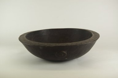 Food Bowl. Wood, 8 11/16 x 15 3/8 in. (22 x 39 cm). Brooklyn Museum, Brooklyn Museum Collection, 00.132. Creative Commons-BY
