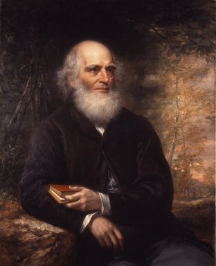 Daniel Huntington (American, 1816-1906). William Cullen Bryant, 1866. Oil on canvas, 39 15/16 x 32 in. (101.5 x 81.3 cm). Brooklyn Museum, Gift of A. Augustus Healy, Carll H. de Silver, Eugene G. Blackford, Clarence W. Seamans, Horace J. Morse, Robert B. Woodward, James R. Howe, William B. Davenport, Frank S. Jones, Abraham Abraham, and Charles A. Schieren, 01.1507