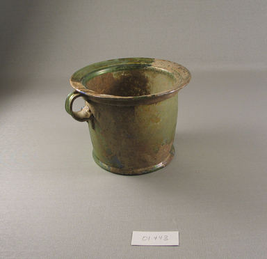 Brooklyn Museum: Large Cup of Plain Blown Glass