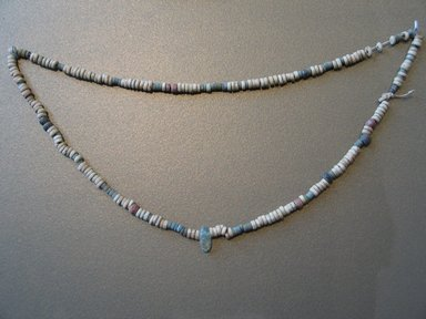 """""""Pan Grave"""" Necklace, ca. 1630-1539 B.C.E. Ivory, quartz (?), Length: 9 1/8 in. (23.1 cm). Brooklyn Museum, Gift of the Egypt Exploration Fund, 02.242. Creative Commons-BY"""