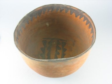 Navajo (Native American). Bowl (Tetsa). Pottery, (17.0 x 26.5 cm). Brooklyn Museum, Museum Expedition 1903, Museum Collection Fund, 03.325.3790. Creative Commons-BY
