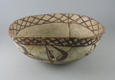 Navajo (Native American). Bowl (Tetsa). Pottery, pigment, (9.5 x 26.0 cm). Brooklyn Museum, Museum Expedition 1903, Museum Collection Fund, 03.325.3796. Creative Commons-BY