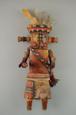 Brooklyn Museum: Kachina Doll (Muloktakya or Mulok Takya)