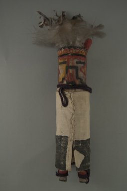 She-we-na (Zuni Pueblo) (Native American). Kachina Doll, late 19th century. Wood, cotton, pigment, feathers, 8 11/16 in. (22.1 cm). Brooklyn Museum, Museum Expedition 1903, Museum Collection Fund, 03.325.4642. Creative Commons-BY