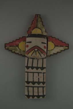 Hopi Pueblo (Native American). Kachina Doll (Shalako Halcinama), late 19th century. Wood, pigment, 7 1/2 x 2 1/4 in. (19.1 x 5.7 cm). Brooklyn Museum, Museum Expedition 1904, Museum Collection Fund, 04.297.5537. Creative Commons-BY
