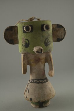 Brooklyn Museum: Kachina Doll (Hon [Bear])