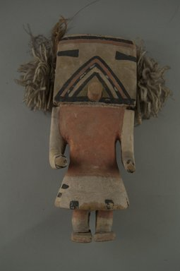 Hopi Pueblo (Native American). Kachina Doll (Koa), late 19th century. Wood, pigment, wool, 8 x 3 1/4 (at skirt) x 2 1/4 in. (20.3 x 8.3 x 5.7 cm). Brooklyn Museum, Museum Expedition 1904, Museum Collection Fund, 04.297.5558. Creative Commons-BY