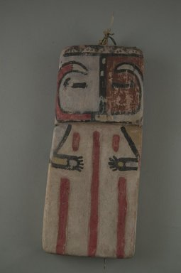 Hopi Pueblo (Native American). Kachina Doll (Pika), late 19th century. Wood, pigment, 7 3/8 x 3 1/4 x 1/2 in. (18.7 x 8.3 x 1.3 cm). Brooklyn Museum, Museum Expedition 1904, Museum Collection Fund, 04.297.5559. Creative Commons-BY
