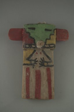 Hopi Pueblo (Native American). Kachina Doll, late 19th century. Wood, pigment, string, 5 11/16 x 1 9/16 x 6 3/4in. (14.5 x 4 x 17.2cm). Brooklyn Museum, Museum Expedition 1904, Museum Collection Fund, 04.297.5576. Creative Commons-BY