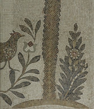 Brooklyn Museum: Mosaic of Date Palm Tree