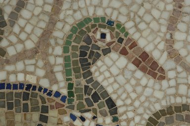 Brooklyn Museum: Mosaic of Duck Facing Right