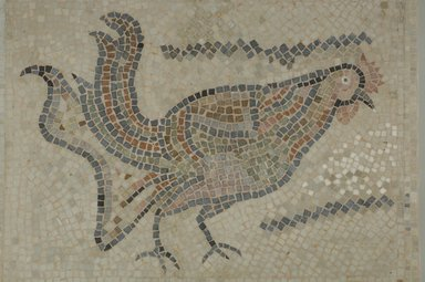 Brooklyn Museum: Mosaic of Rooster