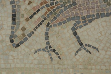 Roman. Mosaic of Rooster, 6th century C.E. Stone and mortar, 1 3/4 x 29 1/2 x 22 in. (4.4 x 74.9 x 55.9 cm). Brooklyn Museum, Museum Collection Fund, 05.23. Creative Commons-BY