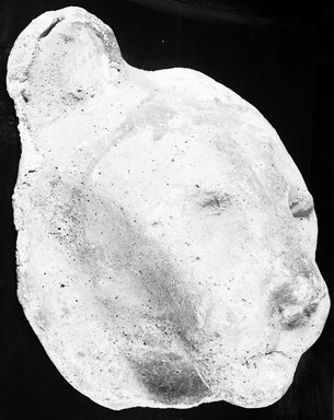 Sculptor's Model of a Lion. Plaster, 6 15/16 x 5 13/16 x 4 1/2 in. (17.7 x 14.8 x 11.5 cm). Brooklyn Museum, Charles Edwin Wilbour Fund, 05.311. Creative Commons-BY