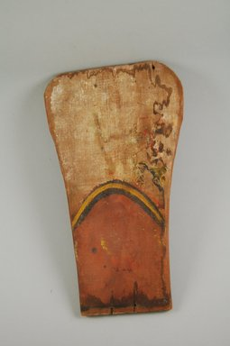 Ko-Tyit (Cochiti Pueblo) (Native American). Image. Wood, pigment, 3/8 x 7 1/16 x 12 1/16 in.  (1.0 x 18.0 x 30.7 cm). Brooklyn Museum, Museum Expedition 1905, Museum Collection Fund, 05.588.7644. Creative Commons-BY