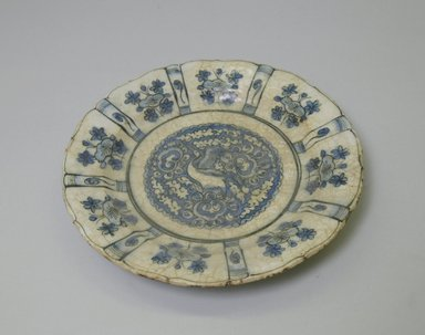 Plate, 18th century. Ceramic, 1 1/8 x 8 1/16 in. (2.9 x 20.5 cm). Brooklyn Museum, Museum Collection Fund, 06.15. Creative Commons-BY