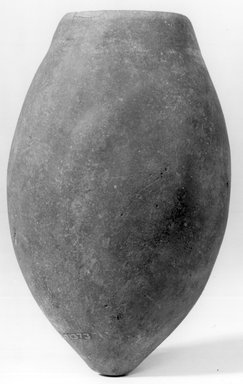 Ovoid Jar. Pottery, 4 11/16 x Diam. 1 7/16 in. (11.9 x 3.6 cm). Brooklyn Museum, Charles Edwin Wilbour Fund, 07.447.1373. Creative Commons-BY