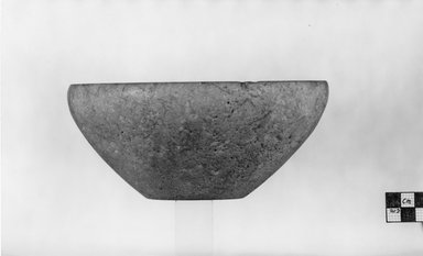 Bowl. Limestone, 3 1/8 x Diam. 7 1/16 in. (7.9 x 18 cm). Brooklyn Museum, Charles Edwin Wilbour Fund, 07.447.145. Creative Commons-BY
