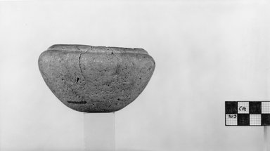 Bowl. Limestone, 2 1/8 x Diam. 3 7/8 in. (5.4 x 9.8 cm). Brooklyn Museum, Charles Edwin Wilbour Fund, 07.447.149. Creative Commons-BY