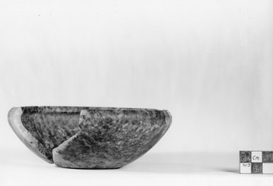 Bowl. Quartzite, 2 1/16 x Diam. 5 7/8 in. (5.3 x 14.9 cm). Brooklyn Museum, Charles Edwin Wilbour Fund, 07.447.182. Creative Commons-BY
