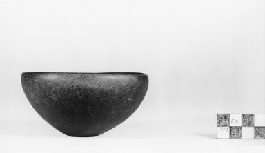 Squat Bowl. Alabaster, 2 1/16 x Diam. 6 in. (5.3 x 15.2 cm). Brooklyn Museum, Charles Edwin Wilbour Fund, 07.447.26. Creative Commons-BY