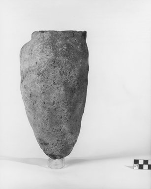 Ovoid Storage Pot. Pottery, 10 9/16 x Diam. 5 5/8 in. (26.8 x 14.3 cm). Brooklyn Museum, Charles Edwin Wilbour Fund, 07.447.301. Creative Commons-BY