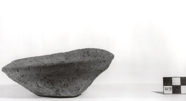 Asymmetrical Shallow Bowl. Pottery, height: 1 1/2 in. Brooklyn Museum, Charles Edwin Wilbour Fund, 07.447.308. Creative Commons-BY