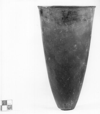 Goblet-Shaped Vase. Clay, 7 15/16 x Diam. 4 7/16 in. (20.2 x 11.3 cm). Brooklyn Museum, Charles Edwin Wilbour Fund, 07.447.335. Creative Commons-BY
