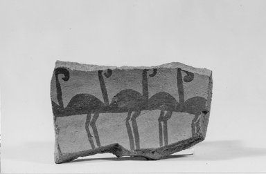 Pottery Fragment. Pottery, 2 11/16 x 1 11/16 x 5/16 in. (6.9 x 4.3 x 0.8 cm). Brooklyn Museum, Charles Edwin Wilbour Fund, 07.447.408. Creative Commons-BY