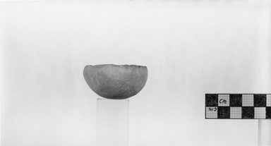 Small Bowl. Alabaster, 1 1/16 x Diam. 2 1/16 in. (2.7 x 5.3 cm). Brooklyn Museum, Charles Edwin Wilbour Fund, 07.447.79. Creative Commons-BY