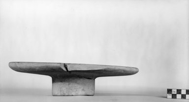 Offering Table. Limestone, 2 15/16 x Diam. 10 15/16 in. (7.4 x 27.8 cm). Brooklyn Museum, Charles Edwin Wilbour Fund, 07.447.9. Creative Commons-BY