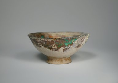 Mesopotamian. Small Bowl, 12th-13th century. Ceramic, 2 3/8 x 5 1/2 in. (6.1 x 14 cm). Brooklyn Museum, Museum Collection Fund, 08.18. Creative Commons-BY