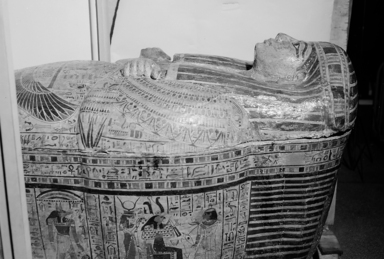 Brooklyn Museum: Outer Sarcophagus of the Royal Prince, Count of Thebes, Pa-seba-khai-en-ipet