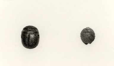 Etruscan. Scarab Form Magic Gem, 5th century or later. Sard (possibly), 1/4 in. (0.7 cm). Brooklyn Museum, Charles Edwin Wilbour Fund, 08.480.207. Creative Commons-BY