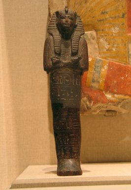 Large Ushabti of Ramesses II, ca. 1292-1190 B.C.E. Wood, 12 1/2 x 3 7/16 in. (31.8 x 8.7 cm). Brooklyn Museum, Charles Edwin Wilbour Fund, 08.480.5. Creative Commons-BY