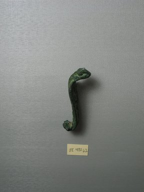 Large Uraeus Serpent. Copper alloy, 3 9/16 x 1 3/8 x 1 3/16 in. (9 x 3.5 x 3 cm). Brooklyn Museum, Charles Edwin Wilbour Fund, 08.480.62. Creative Commons-BY