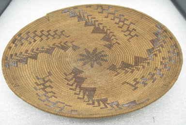 Amanda Wilson (Maidu, Native American, ca. 1860-1946). Acorn Flour Sifting Tray, 1860 - 1909. Maple, redbud bark, willow, 14 1/4 x 2 in. or (5.0 x 36.0 cm). Brooklyn Museum, Museum Expedition 1908, Museum Collection Fund, 08.491.8680. Creative Commons-BY