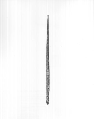 Long Chisel. Copper or bronze, 1 1/4 x 1/4 x 7 1/16 in. (3.2 x 0.6 x 18 cm). Brooklyn Museum, Charles Edwin Wilbour Fund, 09.889.336. Creative Commons-BY