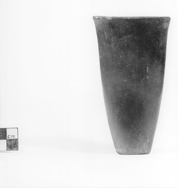 Goblet Shaped Vase. Clay, 4 3/4 x Diam. of mouth 2 7/16 in. (12.1 x 6.2 cm). Brooklyn Museum, Charles Edwin Wilbour Fund, 09.889.553. Creative Commons-BY