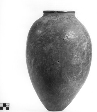 Ovoid Shaped Vase. Clay, slip, Height: 11 13/16 in. (30 cm). Brooklyn Museum, Charles Edwin Wilbour Fund, 09.889.583. Creative Commons-BY