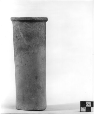 Cylindrical Vase. Limestone, 7 1/8 x  greatest diam. 2 3/4 in. (18.1 x 7 cm). Brooklyn Museum, Charles Edwin Wilbour Fund, 09.889.61. Creative Commons-BY