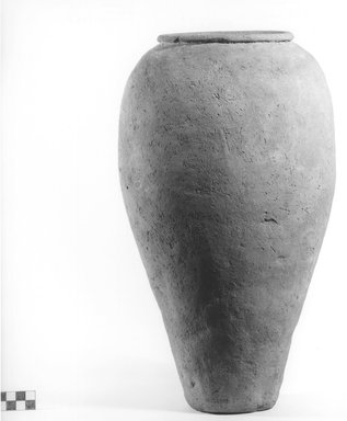 Storage Pot. Pottery, Height: 15 1/16 in. (38.3 cm). Brooklyn Museum, Charles Edwin Wilbour Fund, 09.889.621. Creative Commons-BY