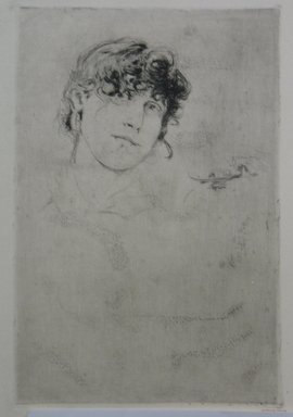 Brooklyn Museum: A Study Head