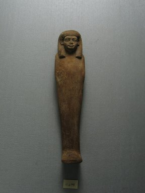 Uninscribed Ushabti. Wood, 6 3/4 x 1 9/16 x 1 1/4 in. (17.2 x 4 x 3.1 cm). Brooklyn Museum, Museum Collection Fund, 11.678. Creative Commons-BY