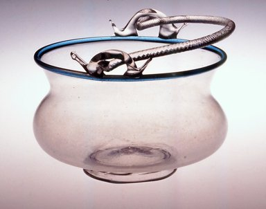 Brooklyn Museum: Bowl with Handle