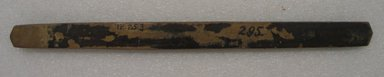 Ainu. Long Straight Prayer Stick. Wood, 1 x 14 5/16 in. (2.6 x 36.3 cm). Brooklyn Museum, Gift of Herman Stutzer, 12.253. Creative Commons-BY