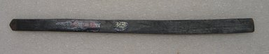 Ainu. Long Narrow Prayer Stick. Wood, 9/16 x 10 9/16 in. (1.5 x 26.9 cm). Brooklyn Museum, Gift of Herman Stutzer, 12.296. Creative Commons-BY