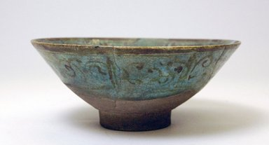 Bowl, 13th century. Ceramic, 3 x 7 3/8 in. (7.6 x 18.7 cm). Brooklyn Museum, Gift of Robert B. Woodward, 12.50. Creative Commons-BY