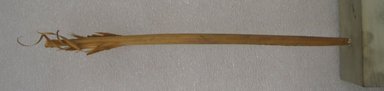 Ainu. Inao. Wood, 3/8 x 10 1/4 in. (1 x 26 cm). Brooklyn Museum, Gift of Herman Stutzer, 12.723. Creative Commons-BY